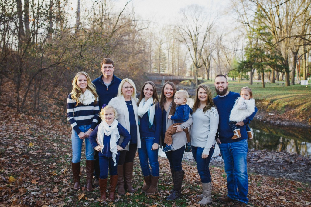 family photography session highland park kokomo indiana