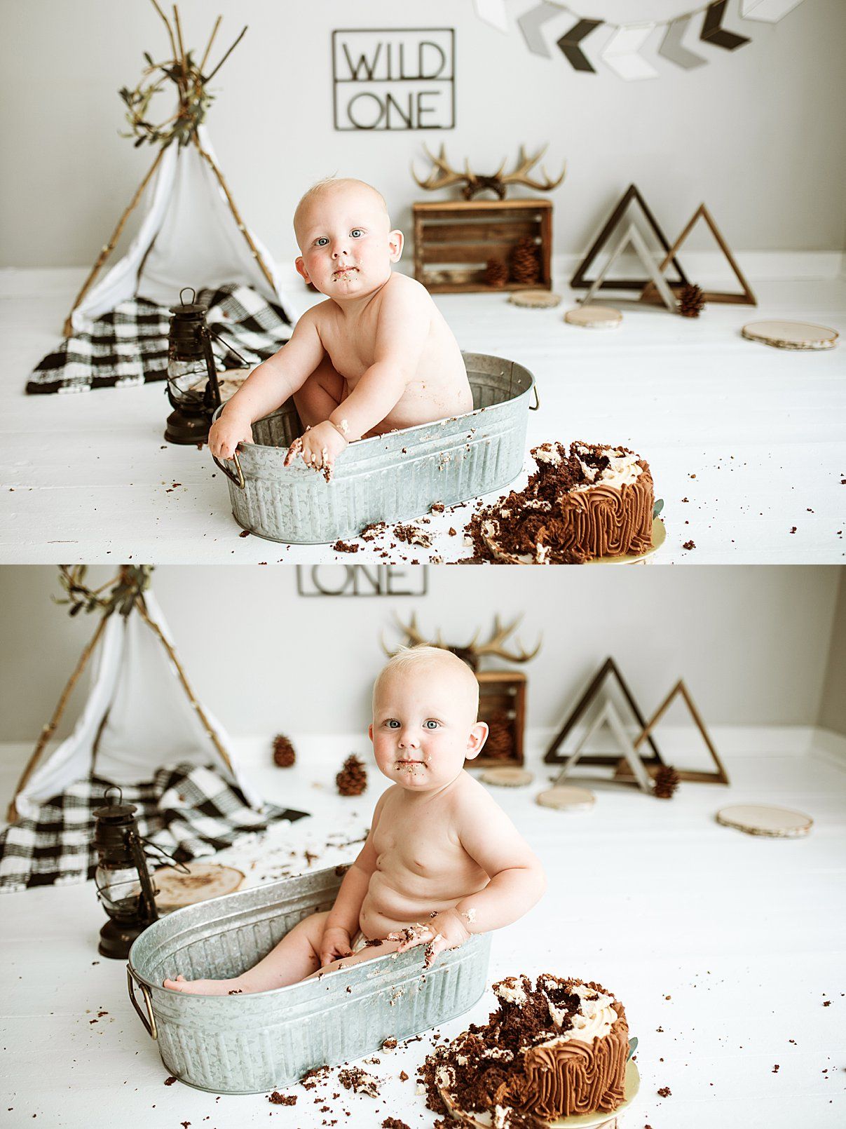 kokomo indiana cake smash photographer