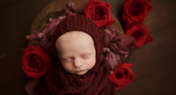 Valentine's Day Newborn Photographer